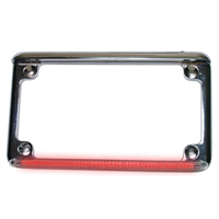 Custom make a Real Flex Motorcycle Plate Frame